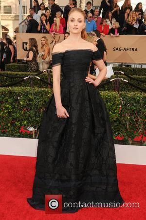 Sophie Turner - 22nd Annual Screen Actors Guild Awards at The Shrine Expo Hall - Arrivals at Shrine Auditorium, Screen...