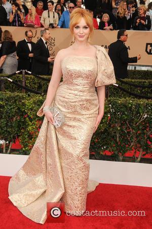 Christina Hendricks - 22nd Annual Screen Actors Guild Awards at The Shrine Expo Hall - Arrivals at Shrine Auditorium, Screen...