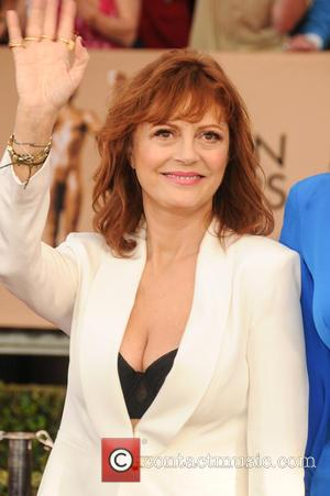 Susan Sarandon Launches Twitter Campaign Over Cleavage Debate