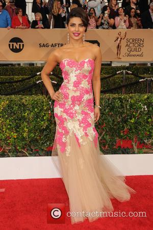 Priyanka Chopra - 22nd Annual Screen Actors Guild Awards at The Shrine Expo Hall - Arrivals at Shrine Auditorium, Screen...