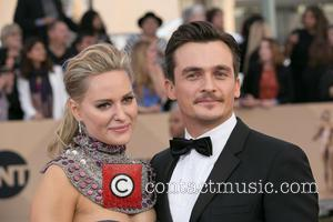 Aimee Mullins and Rupert Friend