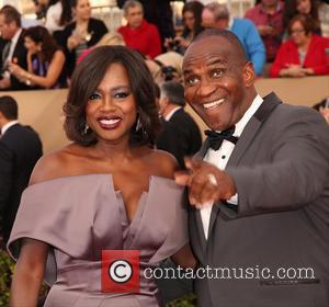 Viola Davis Renews Vows Among Celebrity Friends