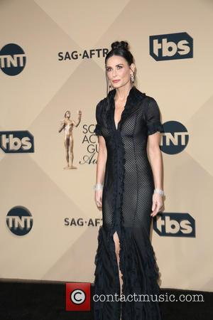 Demi Moore - 22nd Annual Screen Actors Guild Awards at The Shrine Expo Hall - Press Room at The Shrine...