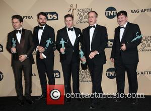 Julian Ovenden, Tom Cullen, Allen Leech, Kevin Doyle and Jeremy Swift