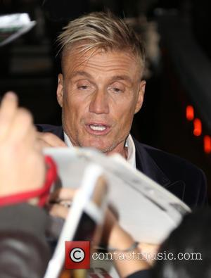 Dolph Lundgren - World premiere of 'Hail, Caesar!' at The Regency Theater - Outside Arrivals - Los Angeles, California, United...