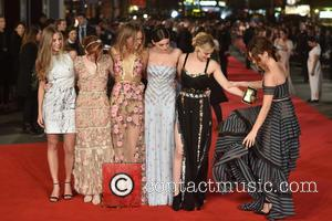 Lily James, Bella Heathcote, Ellie Bamber, Suki Waterhouse and Millie Brady