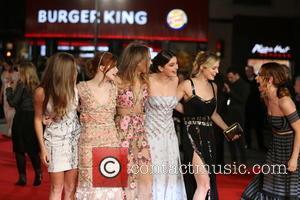Ellie Bamber, Millie Brady, Bella Heathcote and Lily James