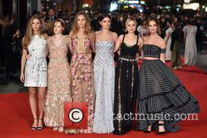 Hermione Corfield, Lily James, Ellie Bamber, Bella Heathcote and Suki Waterhouse