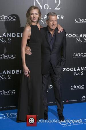 Mario Testino and Karlie Kloss