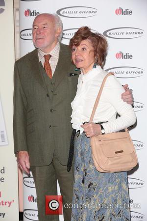 Prunella Scales (winner - Bargees Of The Year) and Timothy West