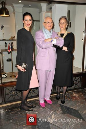 Manolo Blahnik and Sister His  Evangelina