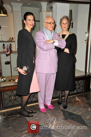 Manolo Blahnik and His Sister Evangelina