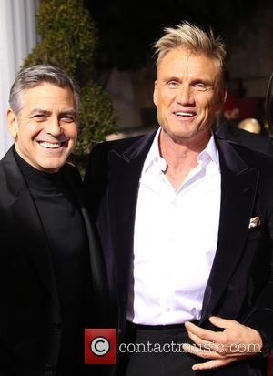 George Clooney and Dolph Lundgren