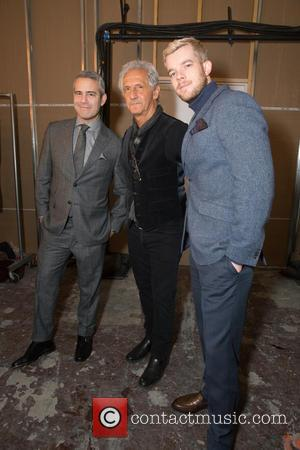 Andy Cohen, Joseph Abboud and Russell Tovey