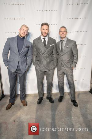 Russell Tovey, Julian Edelman , Andy Cohen - New York Fashion Week Men's Fall/Winter 2016 - Joseph Abboud - Arrivals...