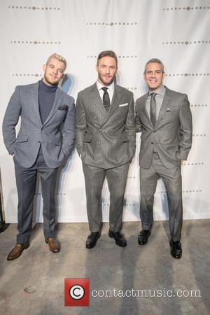 Russell Tovey, Julian Edelman and Andy Cohen
