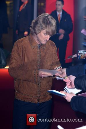 Owen Wilson - Zuper Zoolander No.2 Zcreening at Cinestar am Potsdamer Platz movie theater. at Cinestar am Potsdamer Platz movie...