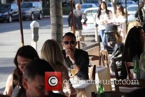 Keane and Claudine Palmer at Beverly Hills