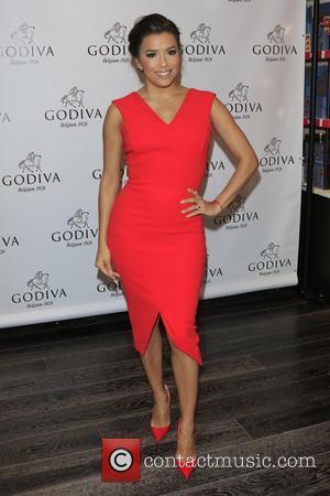Eva Longoria - Eva Longoria celebrates Valentine's Day with Godiva at Godiva Chocolatier at Godiva - Glendale, California, United States...