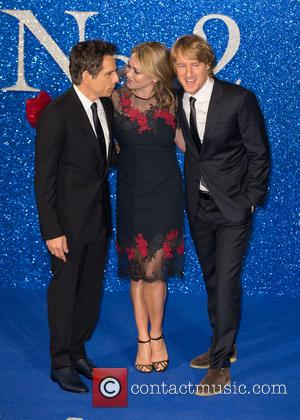 Ben Stiller, Owen Wilson and Christine Taylor