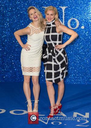 Kimberly Wyatt and Ashley Roberts