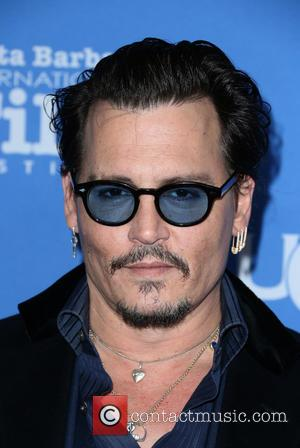 Johnny Depp - The 31st Santa Barbara International Film Festival - Maltin Modern Master: Johnny Depp at Arlington Theatre -...