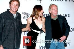 Lauren Shaw and Lance Henriksen