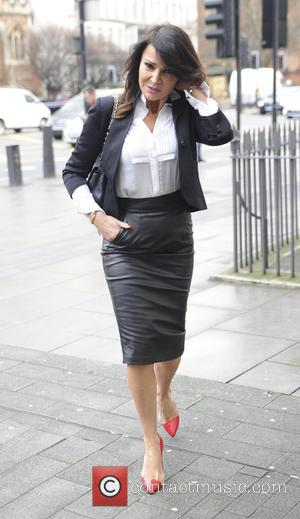Lizzie Cundy - Celebrities arrive at Marylebone Magistrates Court - London, United Kingdom - Thursday 4th February 2016