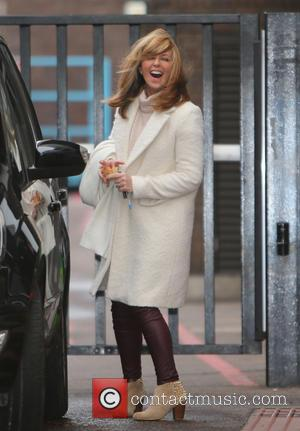 Kate Garraway - Kate Garraway outside ITV Studios - London, United Kingdom - Thursday 4th February 2016