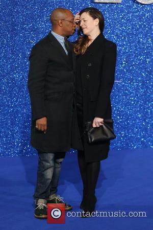 Ian Wright and Nancy Hallam
