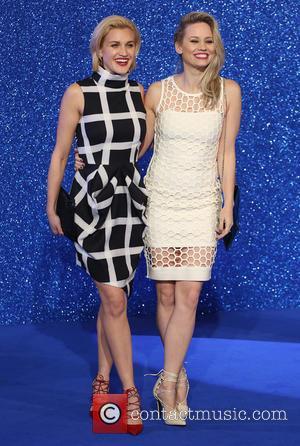 Ashley Roberts and Kimberly Wyatt