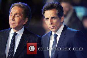 Valentino and Ben Stiller