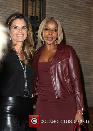 Maria Shriver and Mary J Blige