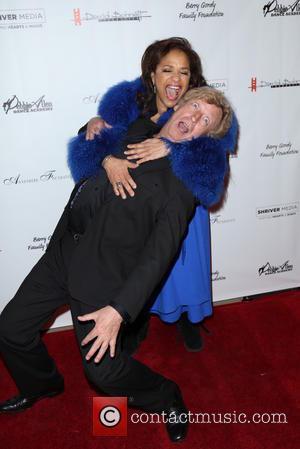 Debbie Allen and Nigel Lythgoe