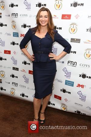 Suzi Perry - Guests attend Zoom F1 Charity Auction and Reception at InterContinental  Hotel, Park Lane - London, United...