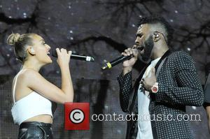 Jason Derulo and Perrie Edwards