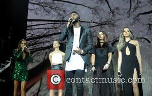 Jason Derulo, Jesy Nelson, Leigh-anne Pinnock and Jade Thirlwall