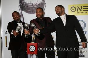F Gary Gray, Anthony Anderson and O'shea Jackson Jr.