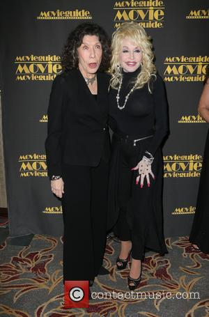 Lily Tomlin and Dolly Parton
