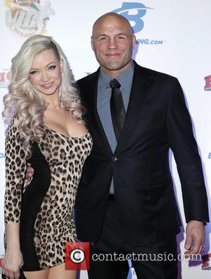 Mindy Robinson and Randy Couture