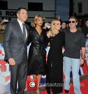 David Walliams, Simon Cowell, Alesha Dixon and Amanda Holden
