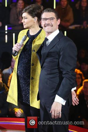 John Partridge and Emma Willis