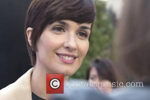 Paz Vega - Paz Vega is presented as the new ambassador for cosmetics brand 'Sensilis' during a photocall at Palacio...