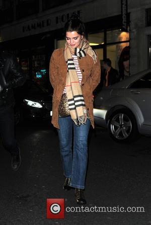 Pixie Geldof - Nick Grimshaw and Pixie Geldof arrive at 100 Wardour St for Grimshaw's DJ set - London, United...