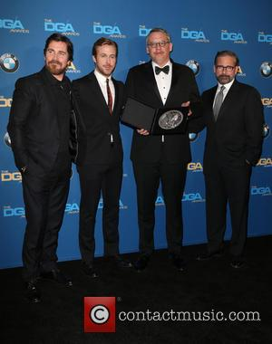 Christian Bale, Ryan Gosling, Adam Mckay and Steve Carrell