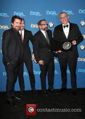 Christian Bale, Ryan Gosling, Steve Carrell and Adam Mckay