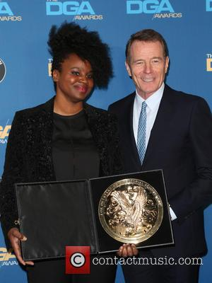Dee Rees and Bryan Cranston