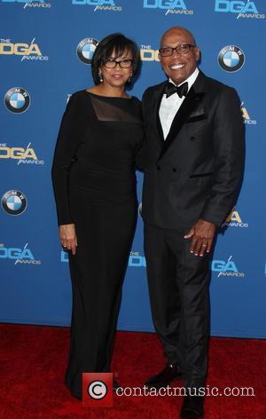 Cheryl Boone Isaacs , Paris Barclay - 68th Annual DGA Awards held at the Hyatt Regency Century Plaza - Arrivals...
