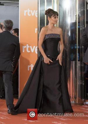 Penelope Cruz - Goya Cinema Awards 2016 at Madrid Marriott Auditorium - Arrivals - Madrid, Spain - Saturday 6th February...