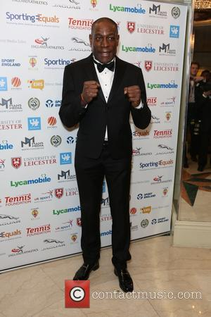 Frank Bruno - British Ethnic Diversity Sports Awards 2016 - Arrivals at Grosvenor House - London, United Kingdom - Saturday...